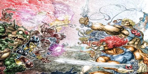 DC Comics Announces He-Man Thundercats Crossover