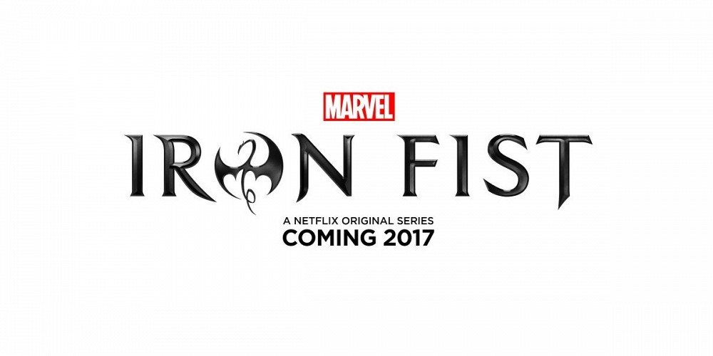 Logo For the Netflix Series 'Iron Fist'