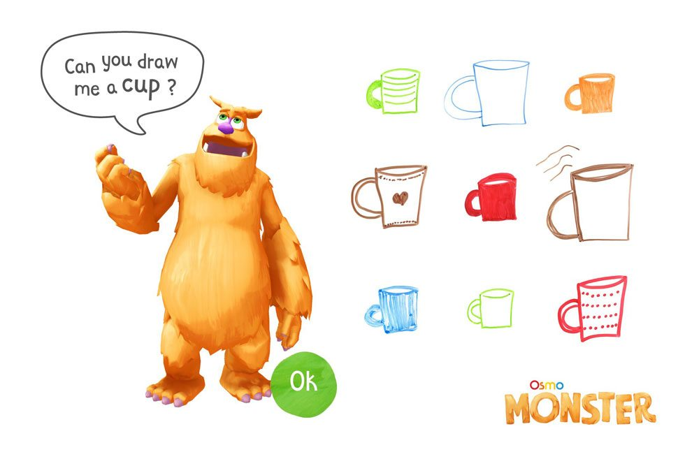 Osmo Monster - cup