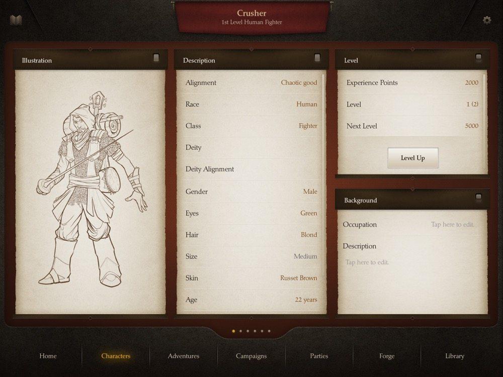 Playbook Character Sheet