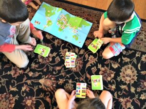 flag frenzy, stealth summer learning