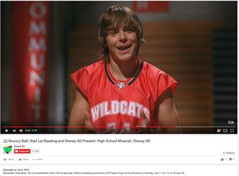 Disney XD: Bad Lip Reading/High School Musical special