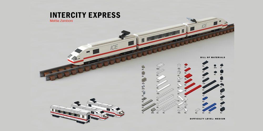 intercity express tiny lego wonders