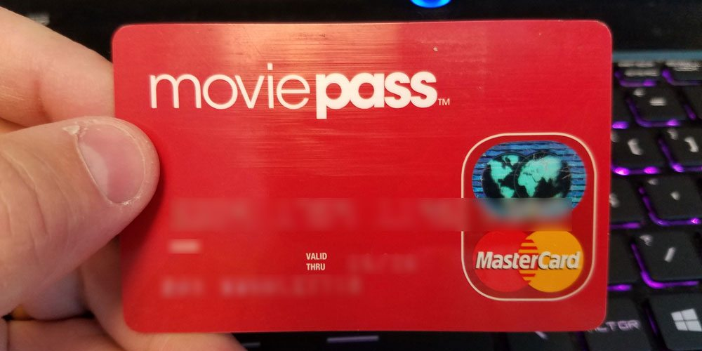 Movie Pass card