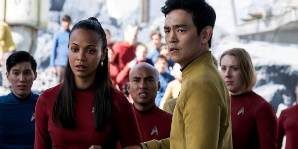 c. Paramount Pictures I am Sulu's stunned disbelief