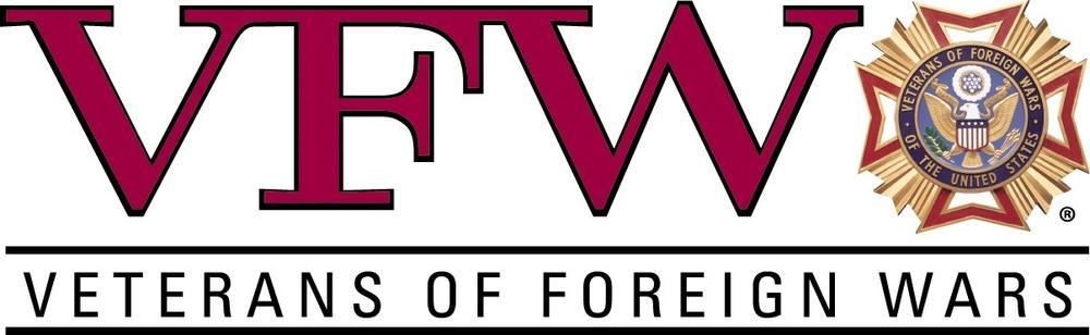 VFW logo copyright Veterans of Foreign Wars.