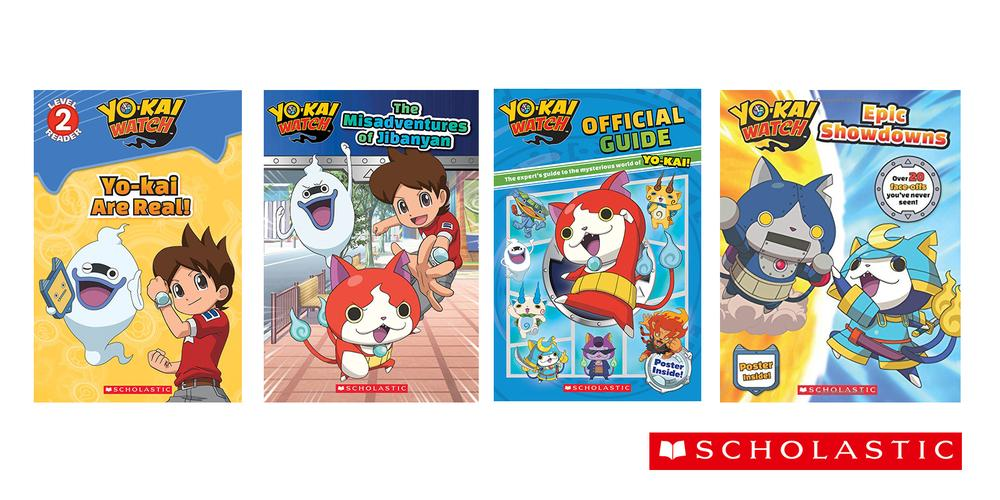 yo-kai watch books