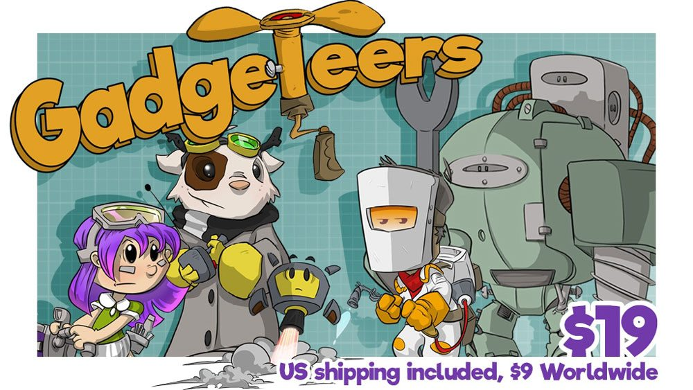 Gadgeteers cover
