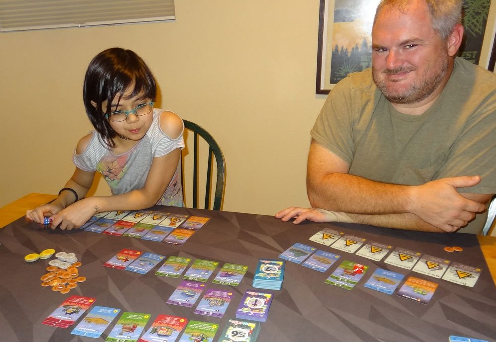 Machi Koro Bright Lights Big City components