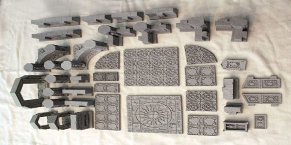 The Started set arrives unpainted