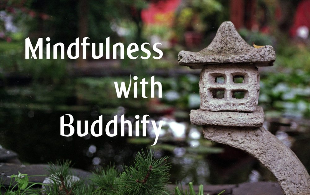 Mindfulness with Buddhify Image Dakster Sullivan