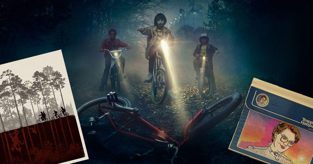 Fan-made 'Stranger Things' tributes