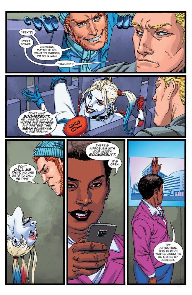Amanda Waller, being her usual self. Image copyright DC Comics