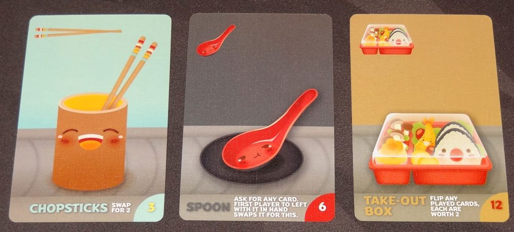 Sushi Go Party! special cards