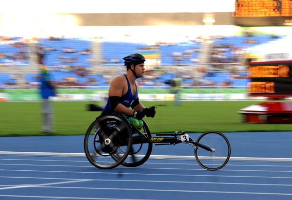 Wheelchair racing is definitely worth watching! Photo: Wikipedia Commons
