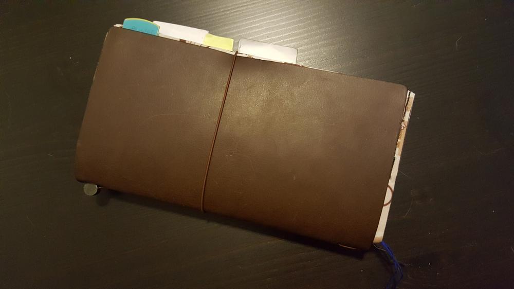 Work Midori Traveler's Notebook