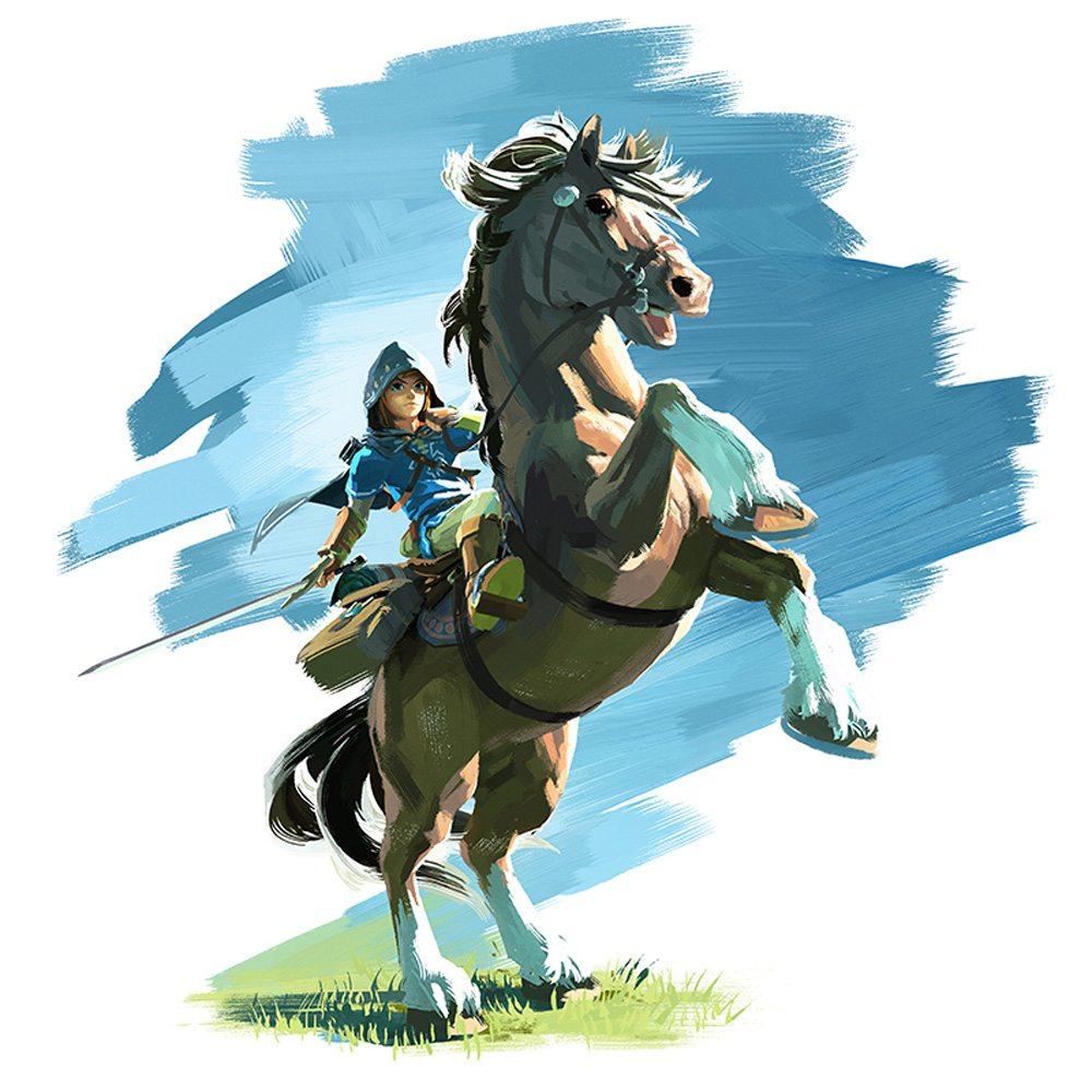 ZeldaBreath-LinkHorse
