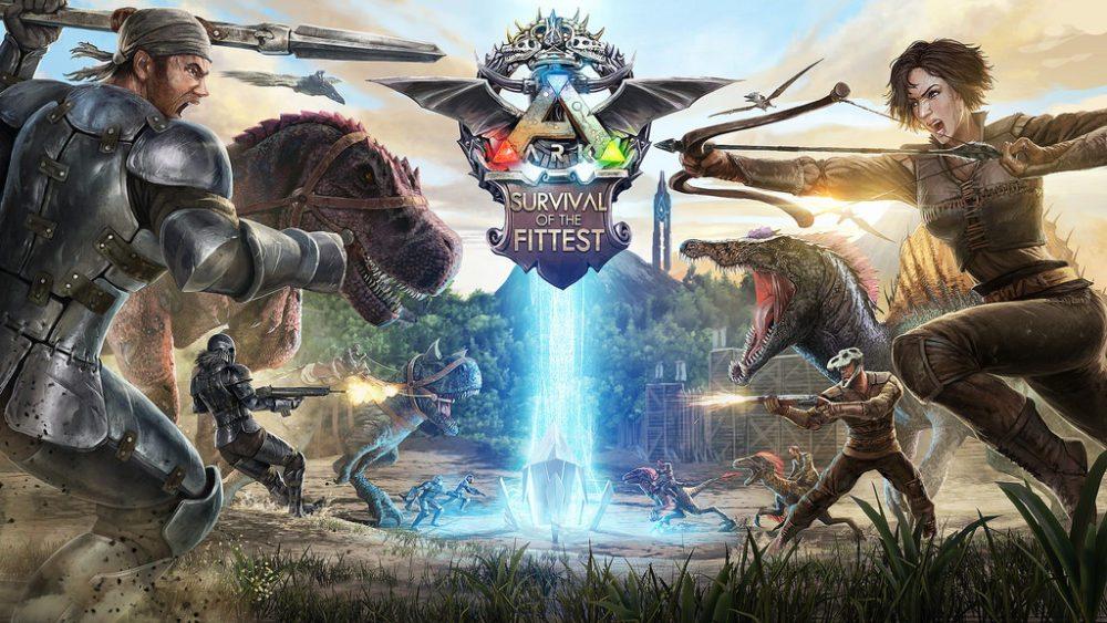 Promo shot of Ark Survival Evolved