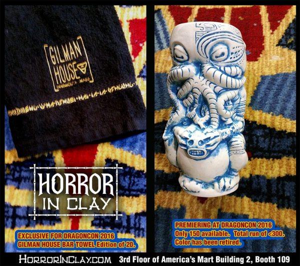 Dragon Con exclusive Horror in Clay mug