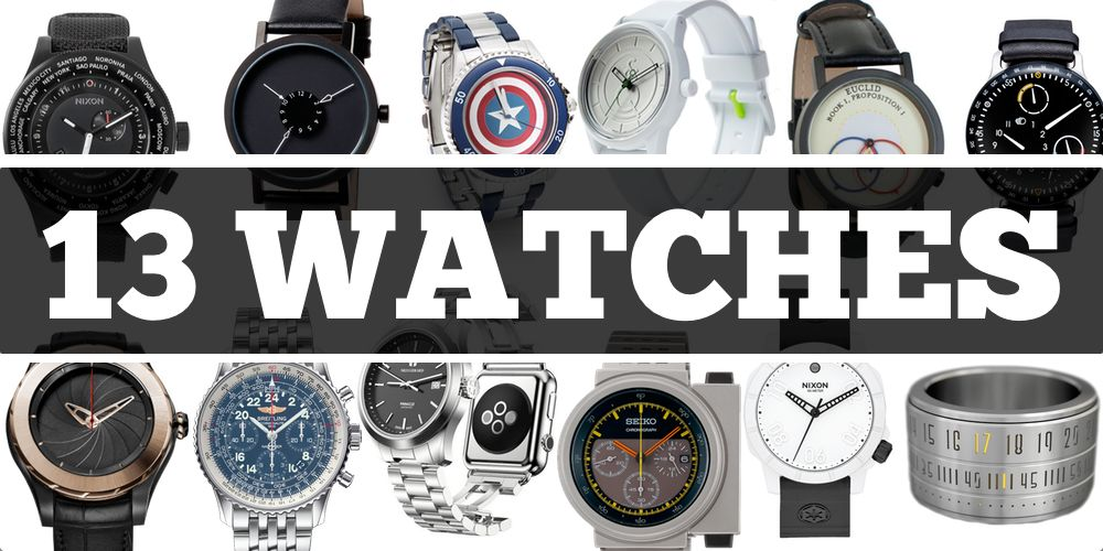 13 Geeky Watches — Third Edition