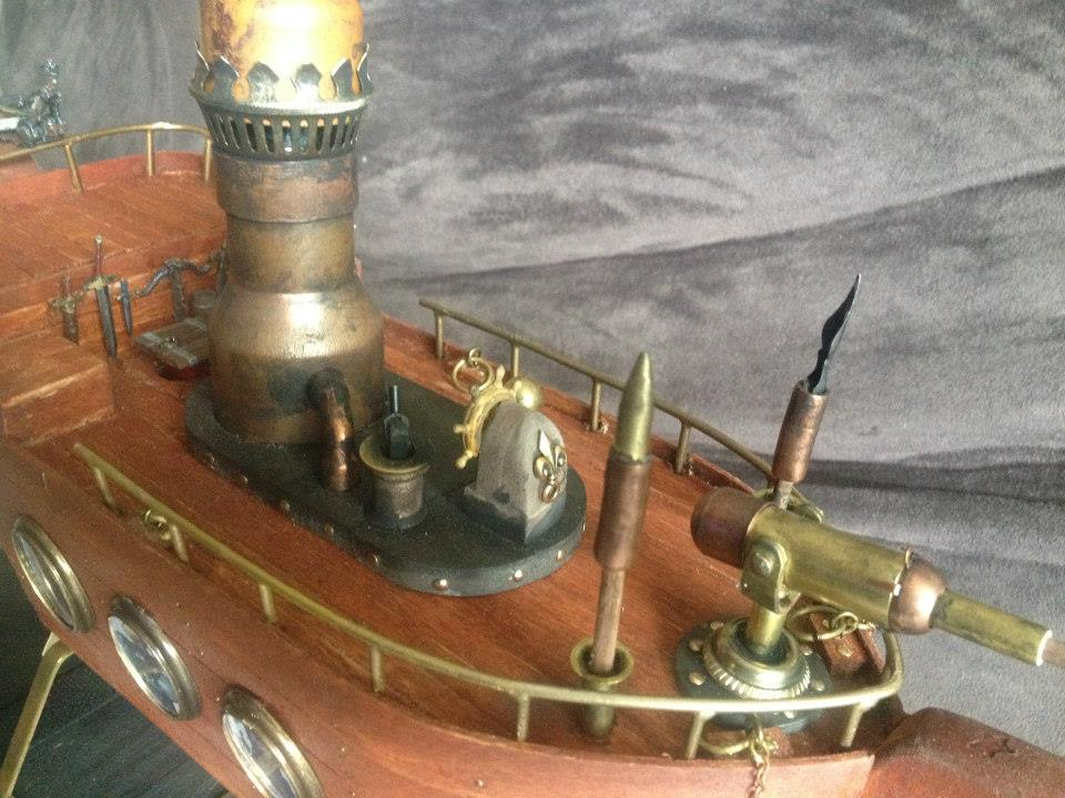 Acquisitions Inc Flying Ship Detail