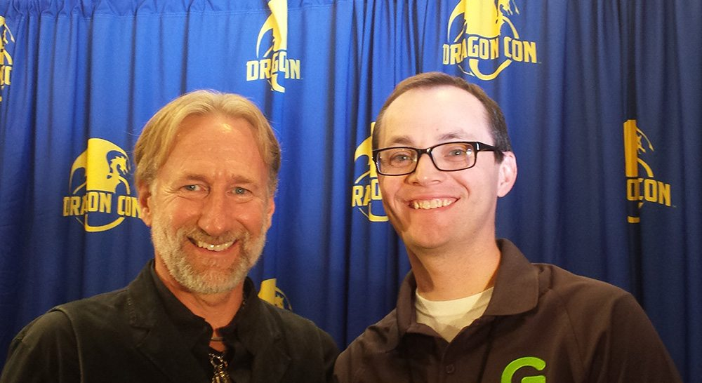 Brian Henson with GeekDad writer Preston Burt