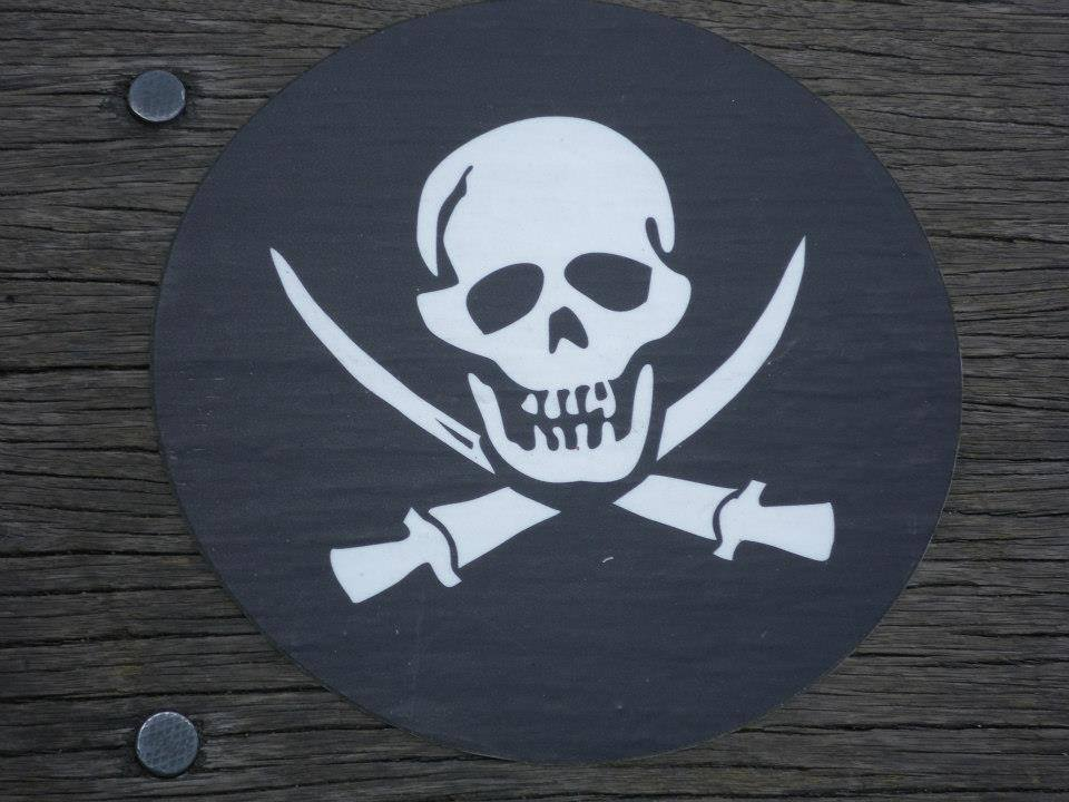 Talk Like A Pirate Sign
