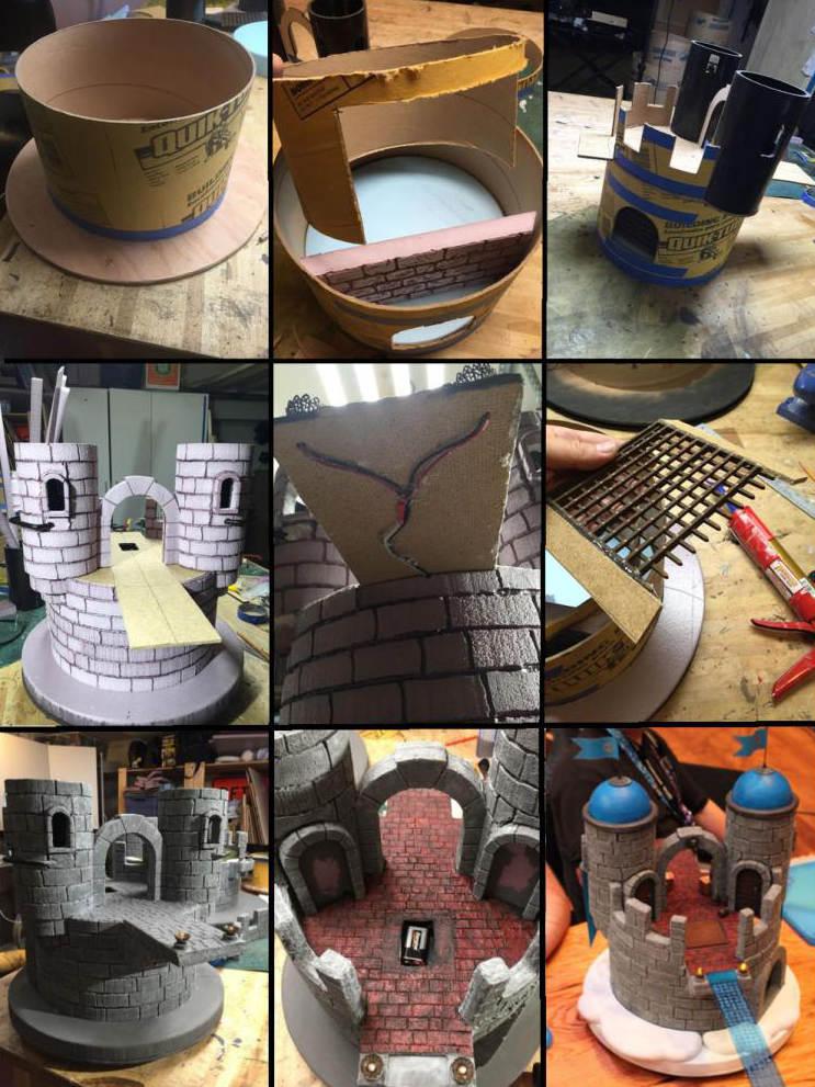 Landing Tower Build Process
