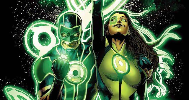 Corrina's two new favorite GLs: Jessica and Simon. Image copyright DC Comics