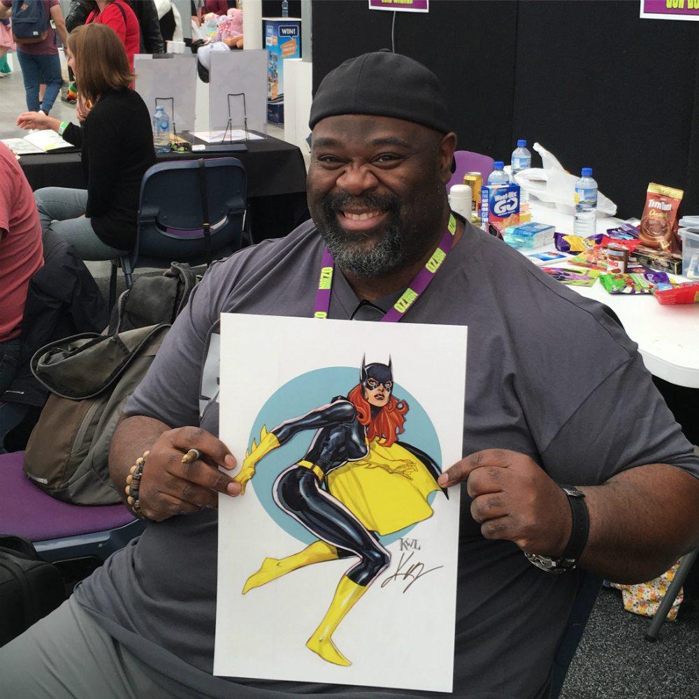 Batgirl Artist Alley