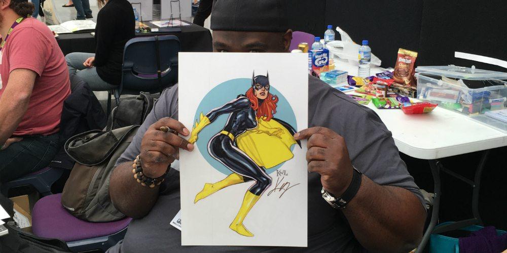 Ken Lashley and Batgirl