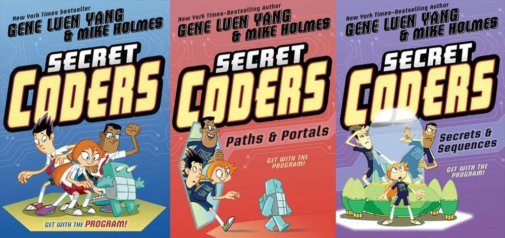 Secret Coders 1-3