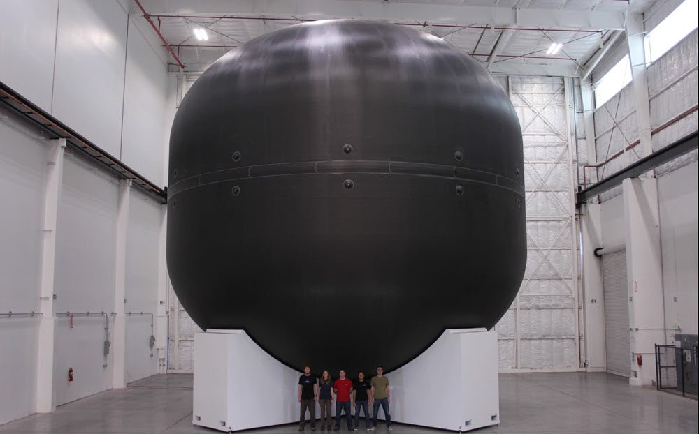Space X Fuel Tank