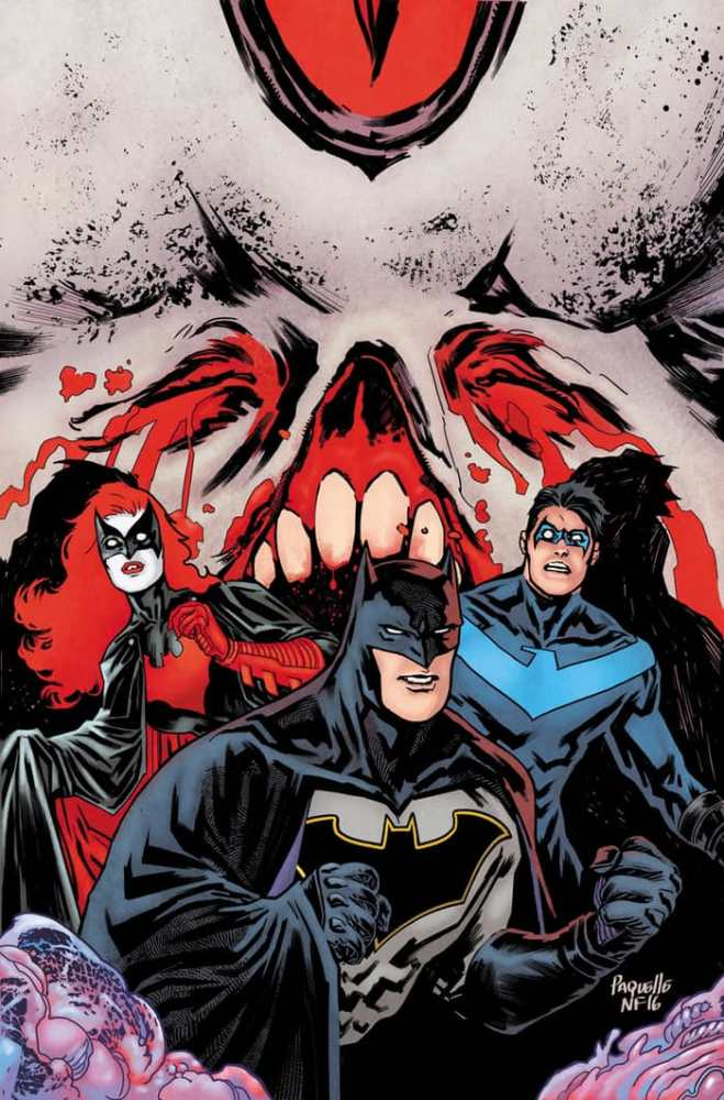The Bats vs. The Monster Men (yes, there's just that macabre inside), image copyright DC Comics