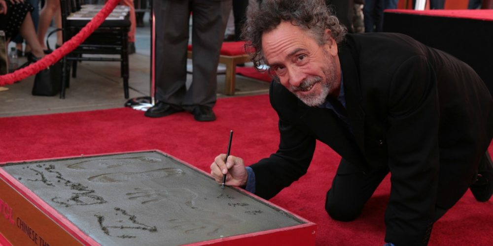 Tim Burton ceremony