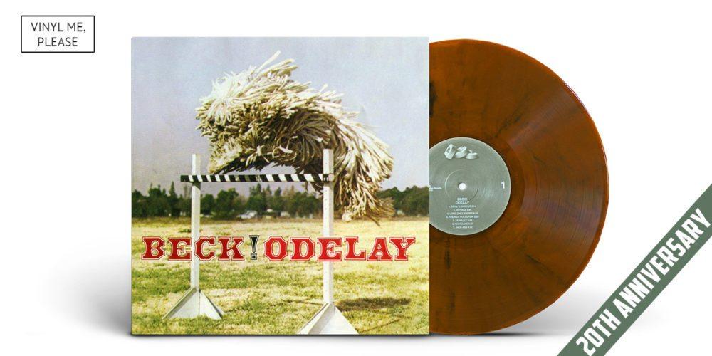 Beck's Odelay Vinyl release from Vinyl Me Please.