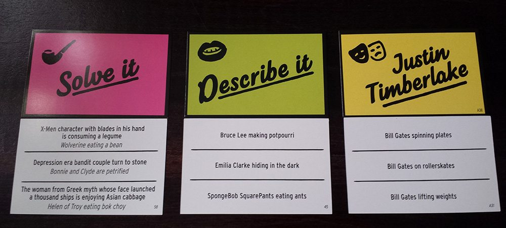 Three card types for Obama Llama means each game is different...and funny.