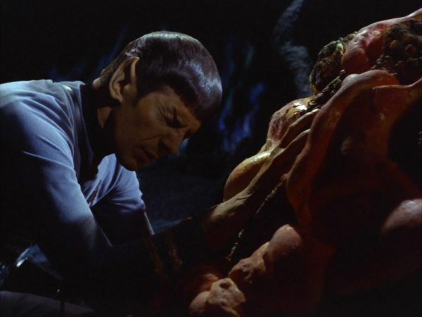 screen cap of Star Trek: Devil in the Dark