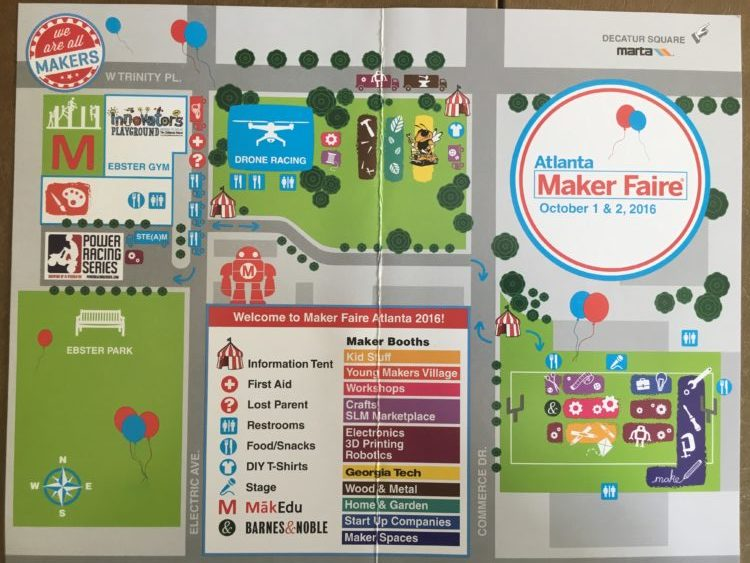 AtlantaMakerFaire Map