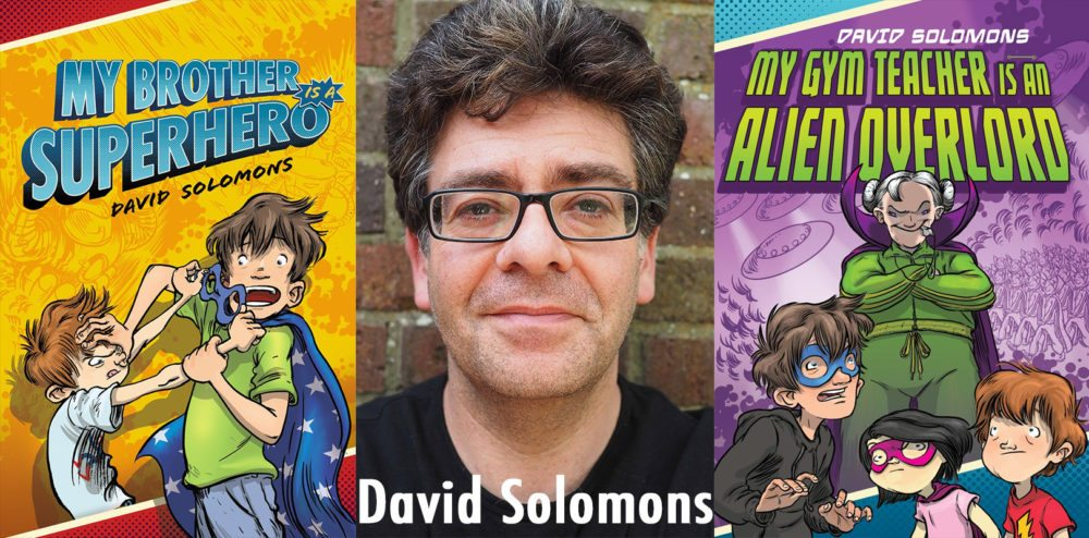 David Solomons  Images courtesy of Penguin Young Readers