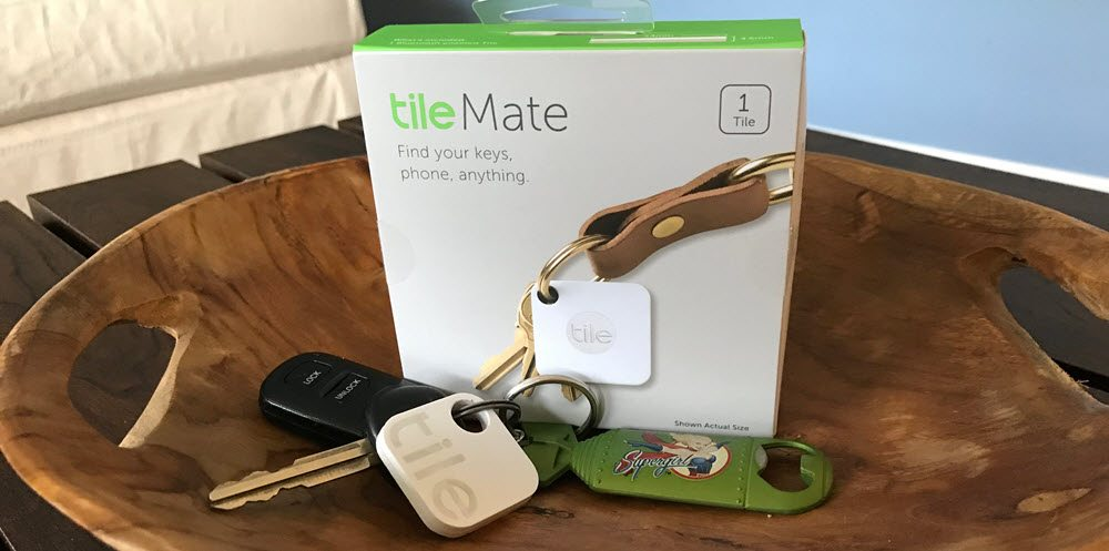 Keychain Upgrade w/ Tile