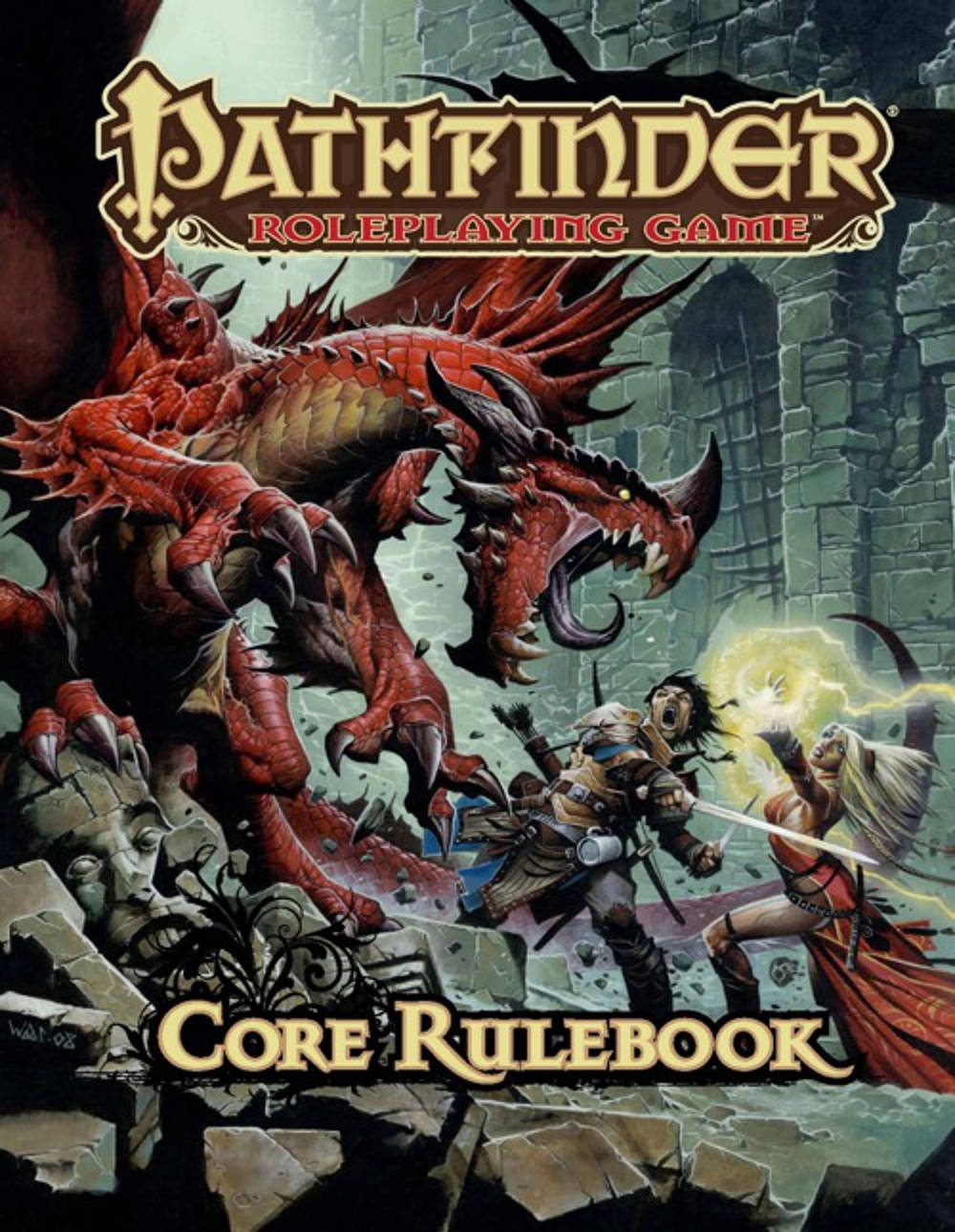 Core Rulebook Cover Art