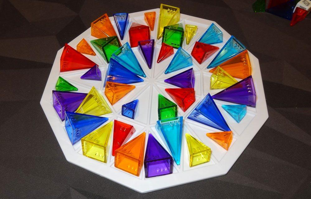 Pyramid Arcade color wheel
