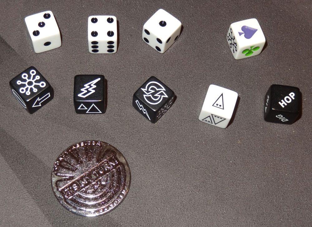Pyramid Arcade dice