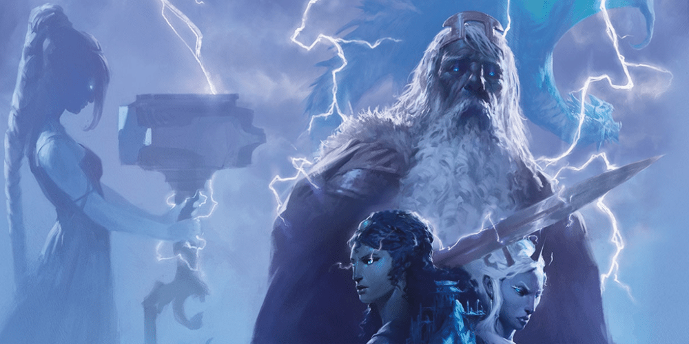 Hekaton and his thre daughters have an epic challenge before them. Image: Wizards of the Coast