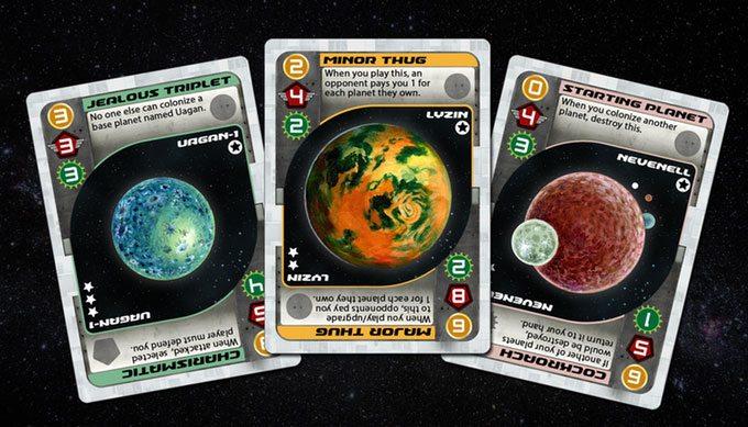 Universal Rule planets