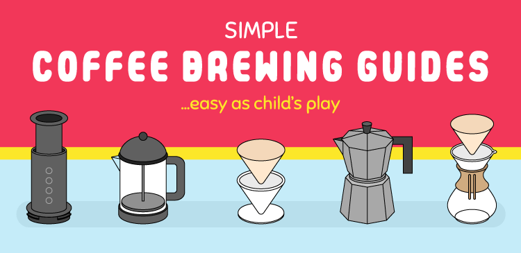 Simple Coffee Brewing Guides