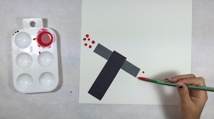 Kylo Ren Lightsaber Painting