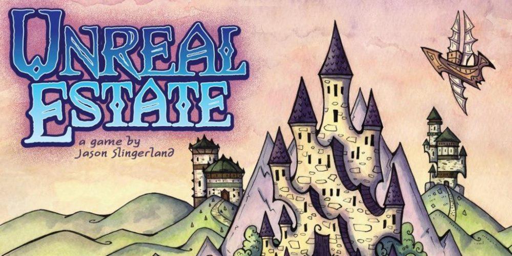 Unreal Estate Board Game Art