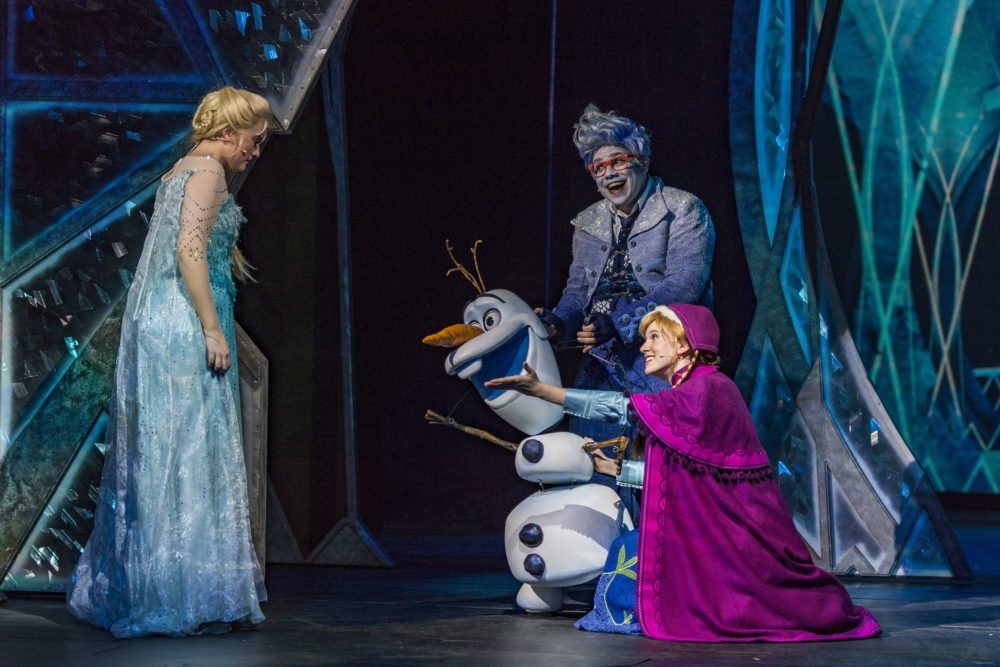 Frozen on the Disney Wonder